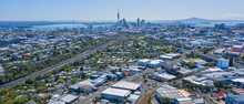 Auckland City With Harbour Bri...