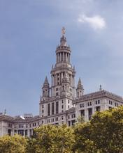 Manhattan Municipal Building In A Beautiful Shot