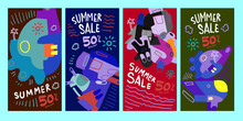 Summer Sale 50% Discount Poste...