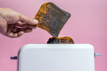 Burnt Bread In The Toaster Clo...