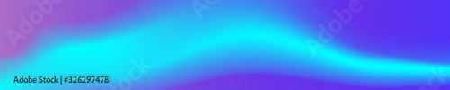 Obraz Panorama. Modern abstract background with color vibrant gradient shapes. Trendy design template for banners, flyers, covers, presentations, identity, landing pages, websites. Vector illustration.  - fototapety do salonu