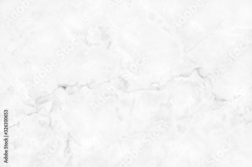 Fototapeta White background marble wall texture for design art work, seamless pattern of tile stone with bright and luxury. obraz