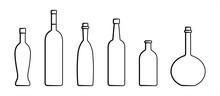 Set Of Bottles Of Different Sh...