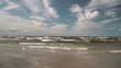 Strong wind in Jurmala in the Baltic