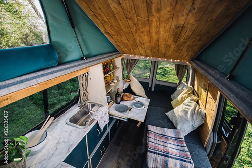 Campervan 2 Wallpaper Mural