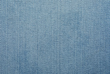 Texture Of Light Blue Jeans As...