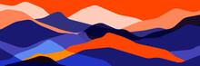 Trend Color Mountains, Translu...