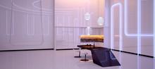 Futuristic Interior Design. Lu...