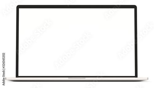 Fototapeta Laptop 3d rendering obraz