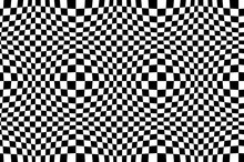 Optical Illusion Checkered Vec...