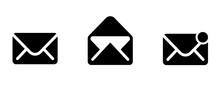 Mail Icon . Web Icon Set .vect...