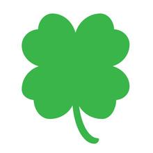 Good Luck Four Leaf Clover Fla...