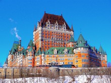 North America, Canada, Province Of Quebec, Quebec City, Frontenac Castle