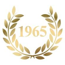Year 1965 Gold Laurel Wreath V...