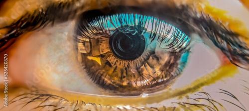 Fotografía lens in pupil