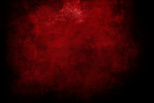 Grungy Red Canvas Background Or Texture