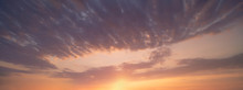 Panorama Of Cloudscape At Suns...