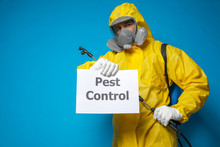 Man Wearing Protective Suit Wi...