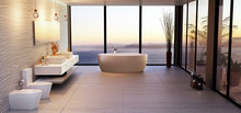 Luxury High Key Bathroom Rende...