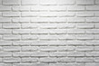 White brick wall texture. Modern house apartment interiors. Decorative stone pattern. New home indoor facade background.
