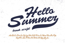 """Hello Summer"".  Original Brus..."