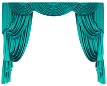 Theatre Curtain Isolated