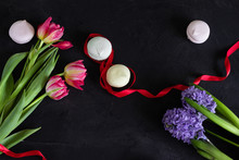 Spring Flowers (tulips And Hya...