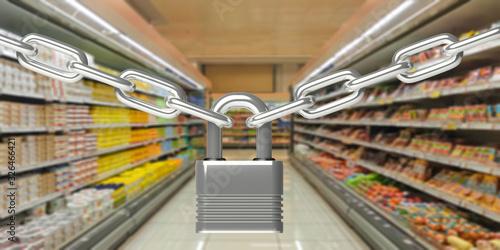 Photo Safe online e-shopping concept