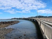 The Alsea Bay Bridge Along Coa...