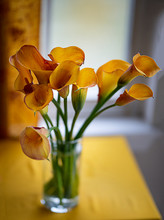 Calla Lily Bouquet -Yellow