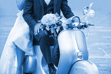 Young Newlywed Just Married, P...