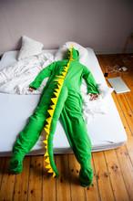 Lounge Lizard Dinosaur Man Lyi...