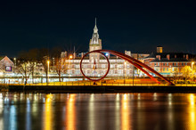 Newport Wales Night Time Citys...