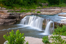 Waterfall In Indiana - Jenning...