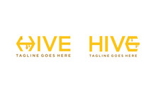 Simple Hive For Logo Design Ve...