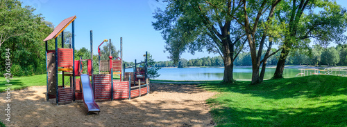 Photo Morgendliche Ruhe am Kuhsee in augsburg