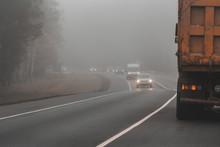 Misty Image Shot In The Haze. ...