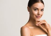 Beautiful Woman Healthy Skin N...