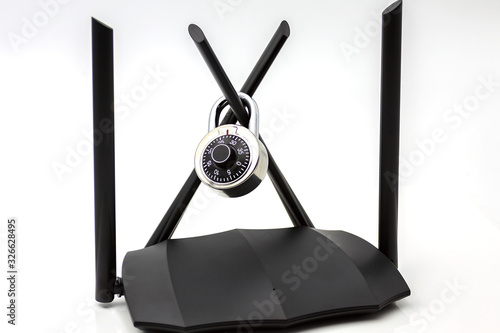 Vászonkép Dual band gigabit wifi router