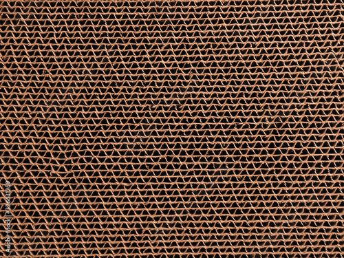 Texture of a cardboard background Fotobehang
