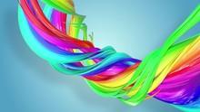 Fantastic Beautiful Ribbons Of...