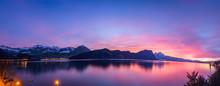 Switzerland. Spectacular Sunse...