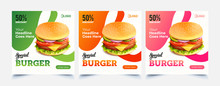 Fast Food Web Template Banner ...