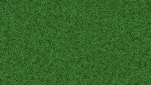 3D Rendering Of Thick Green Gr...