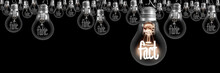 Light Bulbs With Fake And Fact...