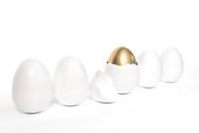 Outstanding Golden Easter Egg ...