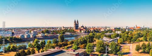 Obraz Magdeburg - Aussicht - fototapety do salonu