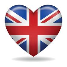 Heart Shape Of United Kingdom ...