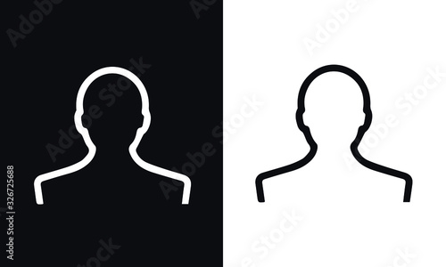 Photo retail icons vector design black and white
