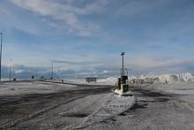 Droga Na Islandii, Stacja Paliw